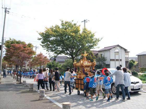2012年10月13日子ども神輿
