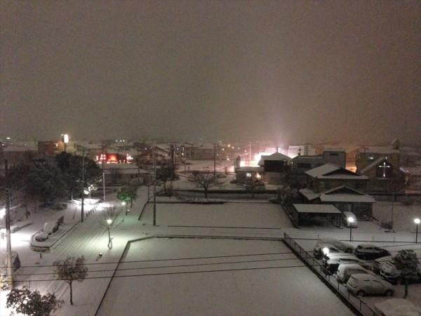 2014年2月4日 御経塚冬景色