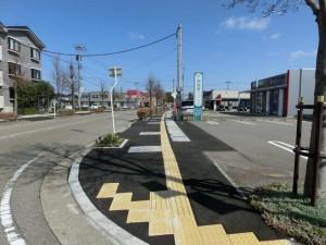 二日市矢木線舗装工事完成-御経塚1丁目