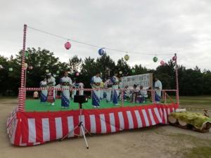 御経塚町内会夏祭り:御経塚じょんがら踊り