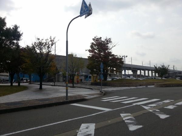 野々市駅北口広場