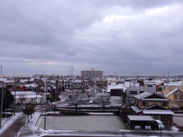 2014年1月27日 御経塚の冬景色