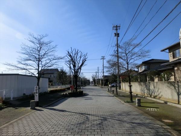 2014年1月7日 御経塚の街並